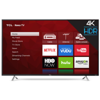 "TCL 55"" Class 4K Ultra HD (2160P) Roku Smart LED TV (55S405)"