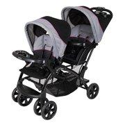 Baby Trend Sit 'N Stand Double Stroller, Millennium Pink