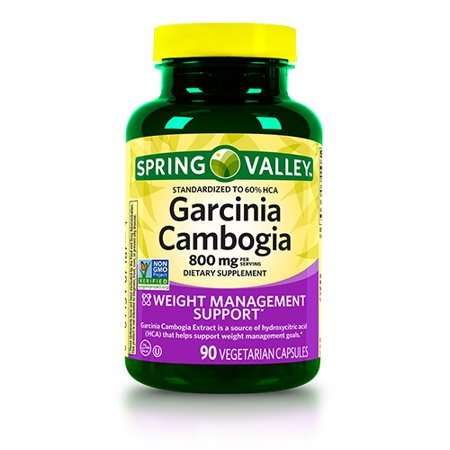 Spring Valley Garcinia Cambogia Capsules 800 Mg 90 Ct