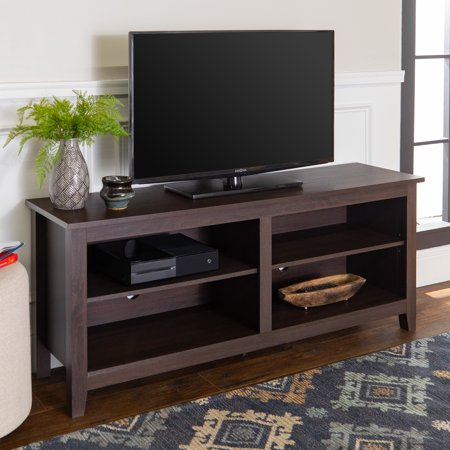 Walker Edison Wood TV Media Storage Stand for TV
