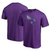d15f4a293d4 Charlotte Hornets Fanatics Branded Static Logo T-Shirt - Purple