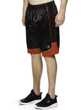 AND1 Big Men's Colorblock Basketball Shorts