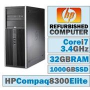 HP 8300 Elite Desktops