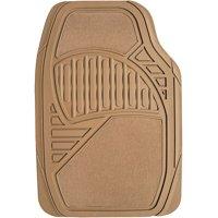 Auto Drive Carpet/Rubber Floor Mats, 4pk