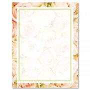 4cecb5018c55 Pale Pink Roses Easter Letter Papers - Set of 25 spring stationery papers  are 8 1