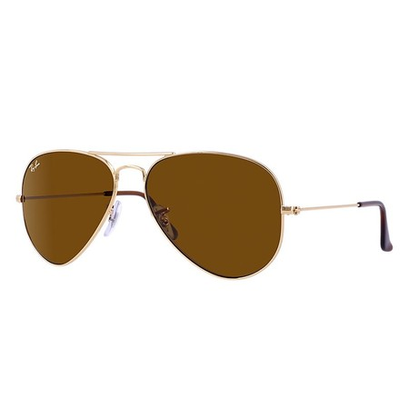 Ray-Ban RB3025 Classic Aviator Sunglasses, (Ray Ban Round Mirrored Metal Sunglasses)
