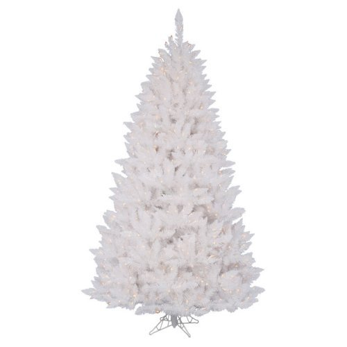 White Christmas Trees