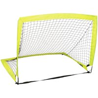 Franklin Sports MLS 4' x 3' Portable Goal for backyard ( Includes Peg Hooks and Carry Bag)