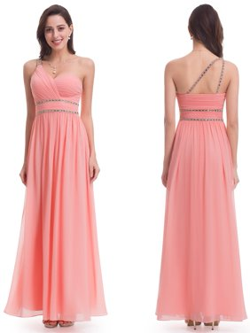 3bc9b128dc7 Product Image Ever-Pretty Womens Elegant Long Maxi One Shoulder Formal  Evening Prom Homecoming Night Bridesmaid Party