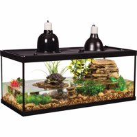 TetraFauna 20-Gallon Deluxe Aquatic Turtle Tank Starter Kit