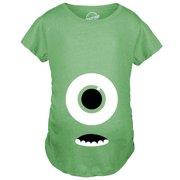 1d851b81cca23 Maternity Monster Eye Ball Funny Pregnancy Announcement Tees Cute Baby T  shirt