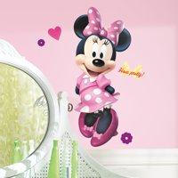 Mickey & Friends Minnie Bowtique Peel & Stick Giant Wall Decal