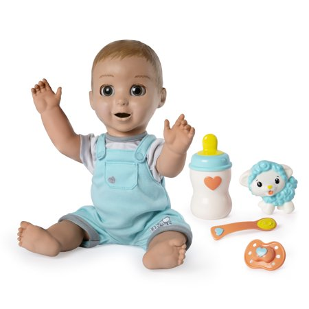 Luvabeau, Responsive Baby Doll with Real Expressions and Movement, for Ages 4 and