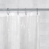 Better Homes & Gardens Super Heavyweight Shower Curtain or Liner, Clear
