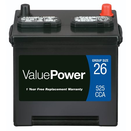 Valuepower Lead Acid Automotive Battery Group 26 Walmart Com