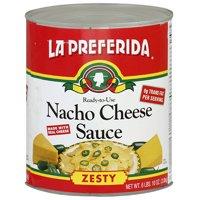 La Preferida Nacho Zesty Cheese Sauce, 106 oz (Pack of 6)