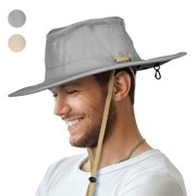 936ad321733 Sun Blocker Outdoor Boonie Sun Protection Hat Mesh Bucket Hat Wide Brim  Camping Hiking Fishing Hunting