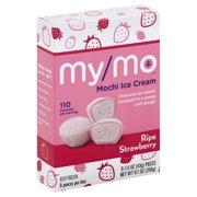 My/Mo Mochi Ice Cream Ripe Strawberry