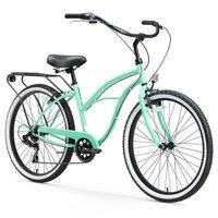 """sixthreezero 26"""" Women's Around The Block Beach Cruiser Bike, 1 and 7 Speed"""