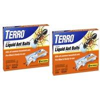 (2 pack) TERRO 6-Pack Liquid Ant Baits