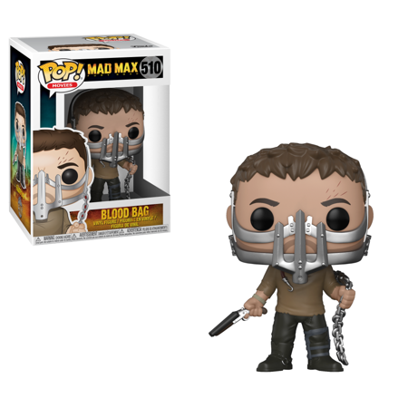 Funko POP! Movies: Mad Max: Fury Road - Max with Cage Mask Walmart Exclusive ()
