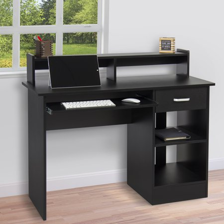 Home office computer desk Wood Best Choice Products Computer Desk Home Laptop Table College Home Office Furniture Work Station Black Walmartcom Walmart Best Choice Products Computer Desk Home Laptop Table College Home