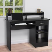 Best Choice Products Computer Desk Home Laptop Table College Home Office Furniture Work Station - Black