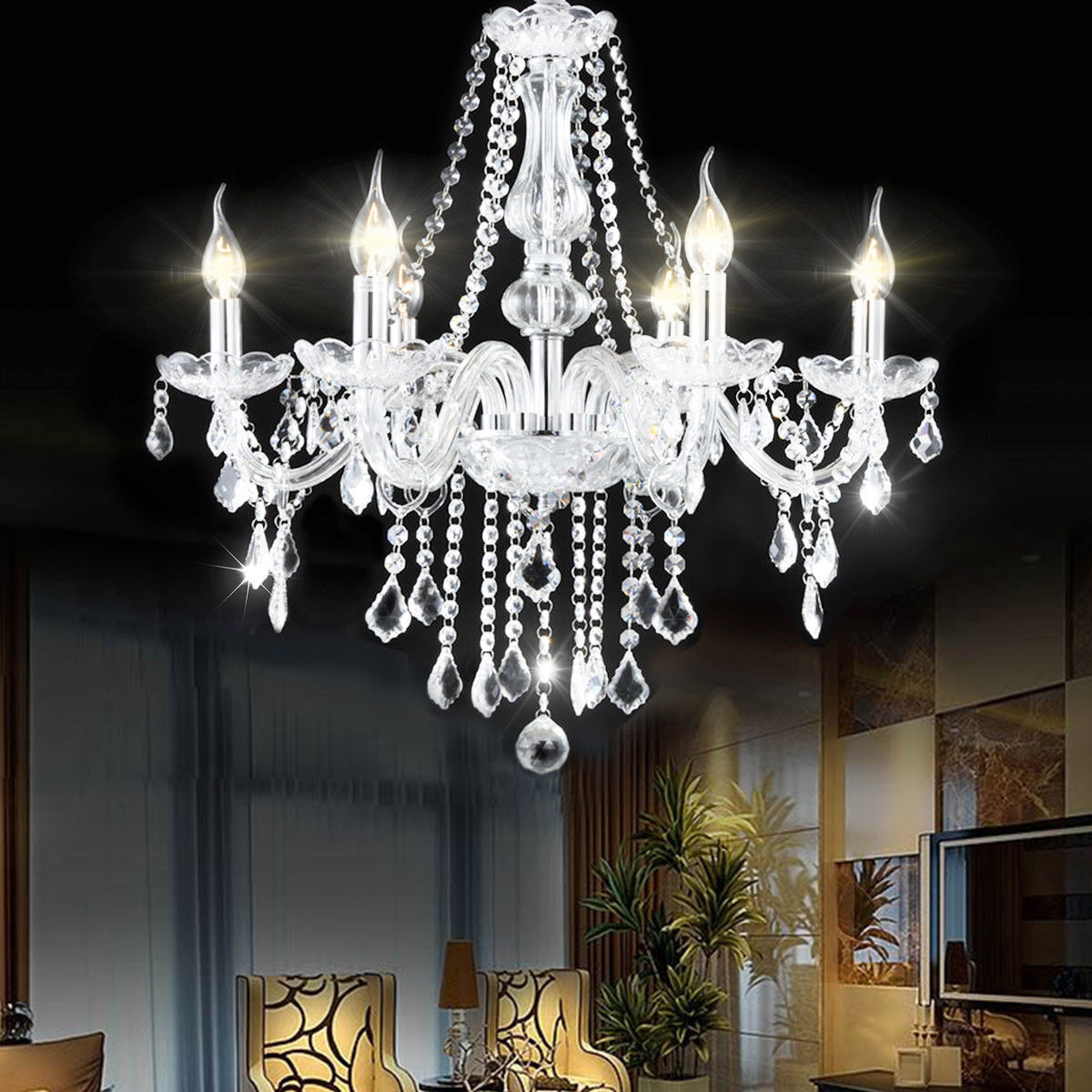 Crystal Chandelier Night Lights Cinici