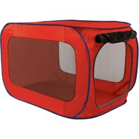 SportPet Pop-Open Kennel, Travel Dog Crate, X Large, Extra Large size ( For Kennel Trained Pet Only )