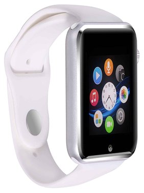 Premium White Bluetooth Smart Wrist Watch Phone mate for Android Touch Screen Blue Tooth Smart Watch with Camera for Adults for Kids (Supports [does not include] SIM+MEMORY CARD) G10