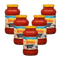 (5 Pack) Ragú Cheese Creations Parmesan & Romano Pasta Sauce 24 oz.