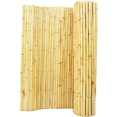 - Backyard X-Scapes Bamboo Fencing, Natural - Walmart.com