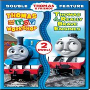 Thomas & Friends: Thomas and the Toy Workshop / Thomas & the Really Brave Engines & Other Adventures (DVD)