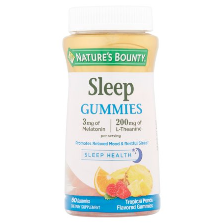 Sleep Tropical Punch Flavored Gummies, 60 count - Formula Tropical Punch