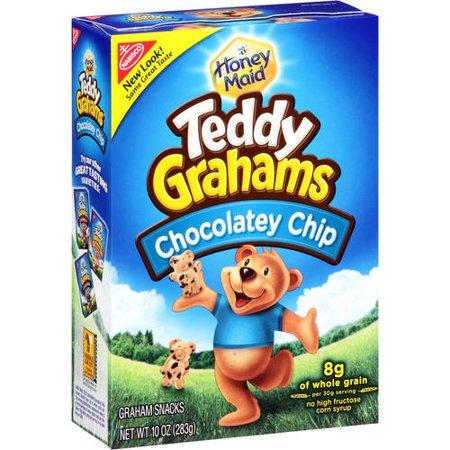 Nabisco Honey Maid Chocolate Chip Teddy Graham Snacks, 10 Oz. - Halloween Treats With Graham Crackers