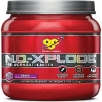 BSN N.O. Xplode, Pre Workout Igniter, Grape, 60 Servings