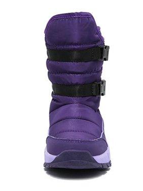 Boys Girls Winter Waterproof Warm Snow Boots for Toddler/Little Kids/Big Kids