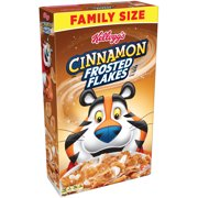 (3 pack) Kellogg's Frosted Flakes Breakfast Cereal, Cinnamon, 24 Oz