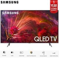 """Samsung QN55Q8FNB 55"""" Q8FN Smart 4K Ultra HD QLED TV (2018) (QN55Q8FNBFXZA) with 2x 6ft High Speed HDMI Cable + Universal Screen Cleaner for LED TVs QN65Q7F QN65Q7 65Q7F 65Q7"""