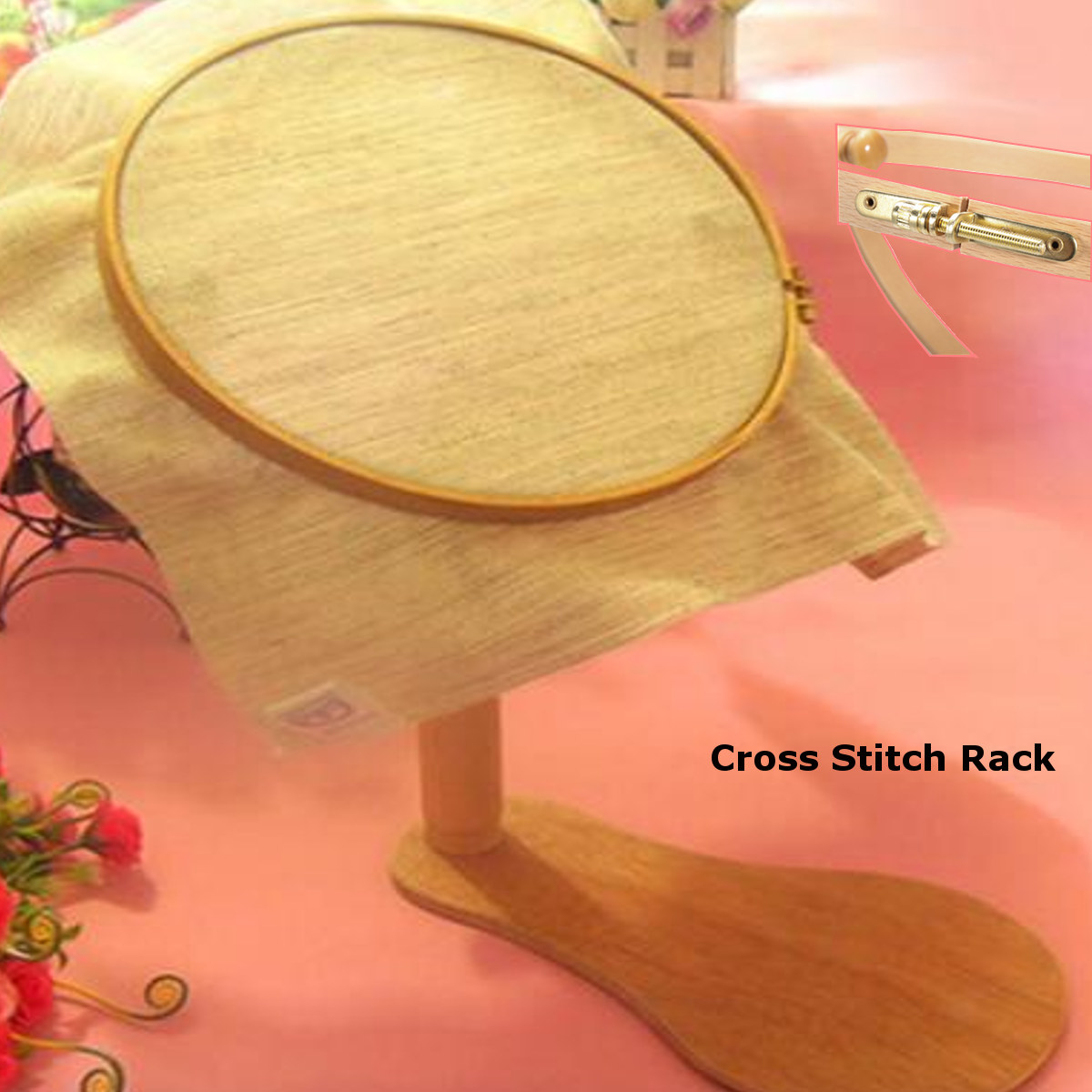 Embroidery Hoop Stands