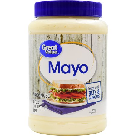 (2 Pack) Great Value Mayo, 48 oz