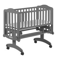 Dream On Me Lullaby Cradle Glider - Steel Grey