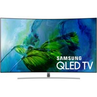 """SAMSUNG 65"""" Class Curved 4K (2160P) Ultra HD Smart QLED HDR TV (QN65Q8CAMFXZA)"""