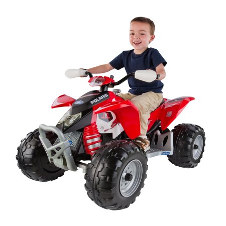 - Polaris Outlaw 12-volt Ride-on, Red