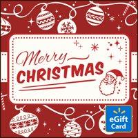 Merry Christmas Walmart eGift Card
