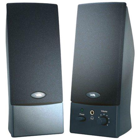 Cyber Acoustics 2-Piece USB Powered Computer Speaker (Best Cheap Desktop Speakers)