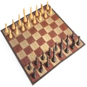 Travel Chess Set Game Compact Folding Board For Portable Play