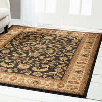Home Dynamix Royalty Traditional Border Ivory Area Rug