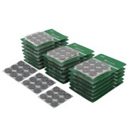 Household Self Adhesive Table Furniture Felt Pads Mats Gray 22mm Diameter 540pcs