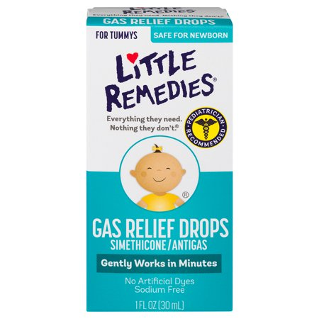 Little Remedies Gas Relief Drops, Berry Flavor, Safe For Newborns, 1 FL